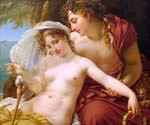 Bacchus and Ariadne by  Antoine Jean Gros (Painting ID: CL-4125-KA)