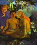 Barbarous Tales 15 by  Paul Gauguin (Painting ID: GA-0315-KA)