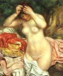 Bather Arranging Her Hair by  Pierre Auguste Renoir (Painting ID: CL-4480-KA)