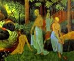 Bathers with White Veils by  Paul Serusier (Painting ID: EI-0500-KA)