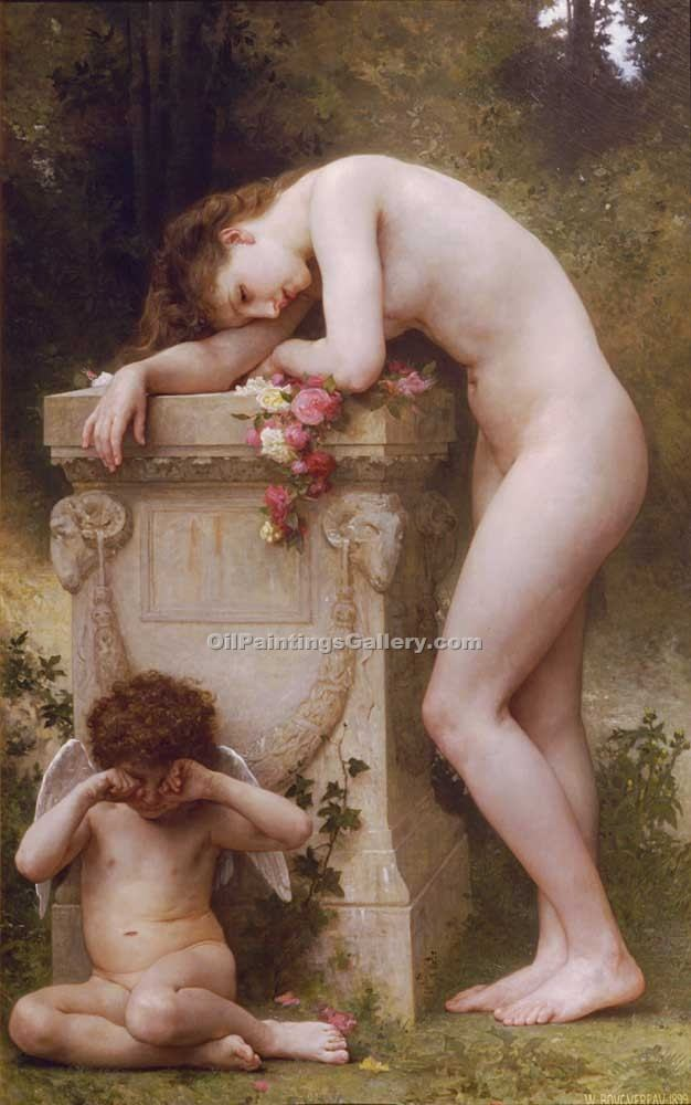 """Elgy"" by  Adolphe Bouguereau"