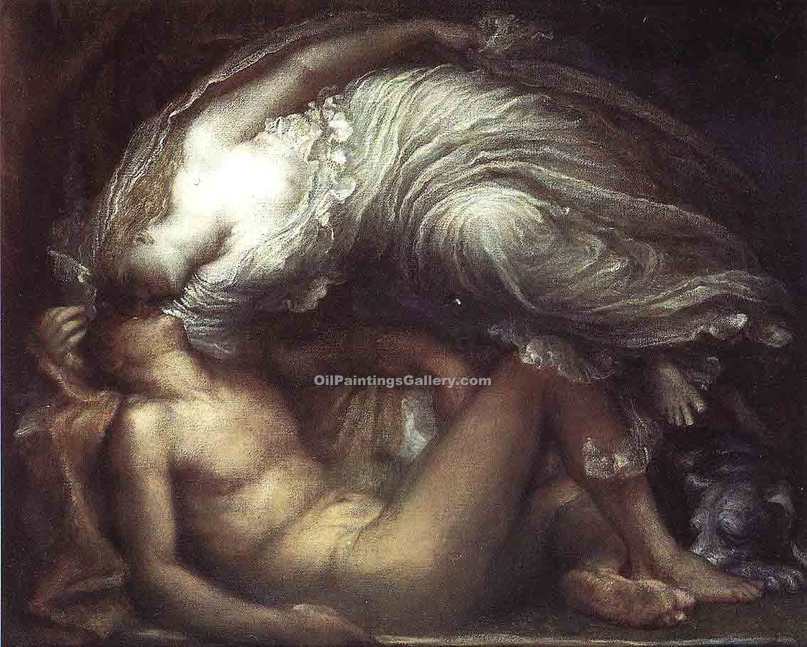 Endymion by Watts George | Painted Artwork - Oil Paintings Gallery