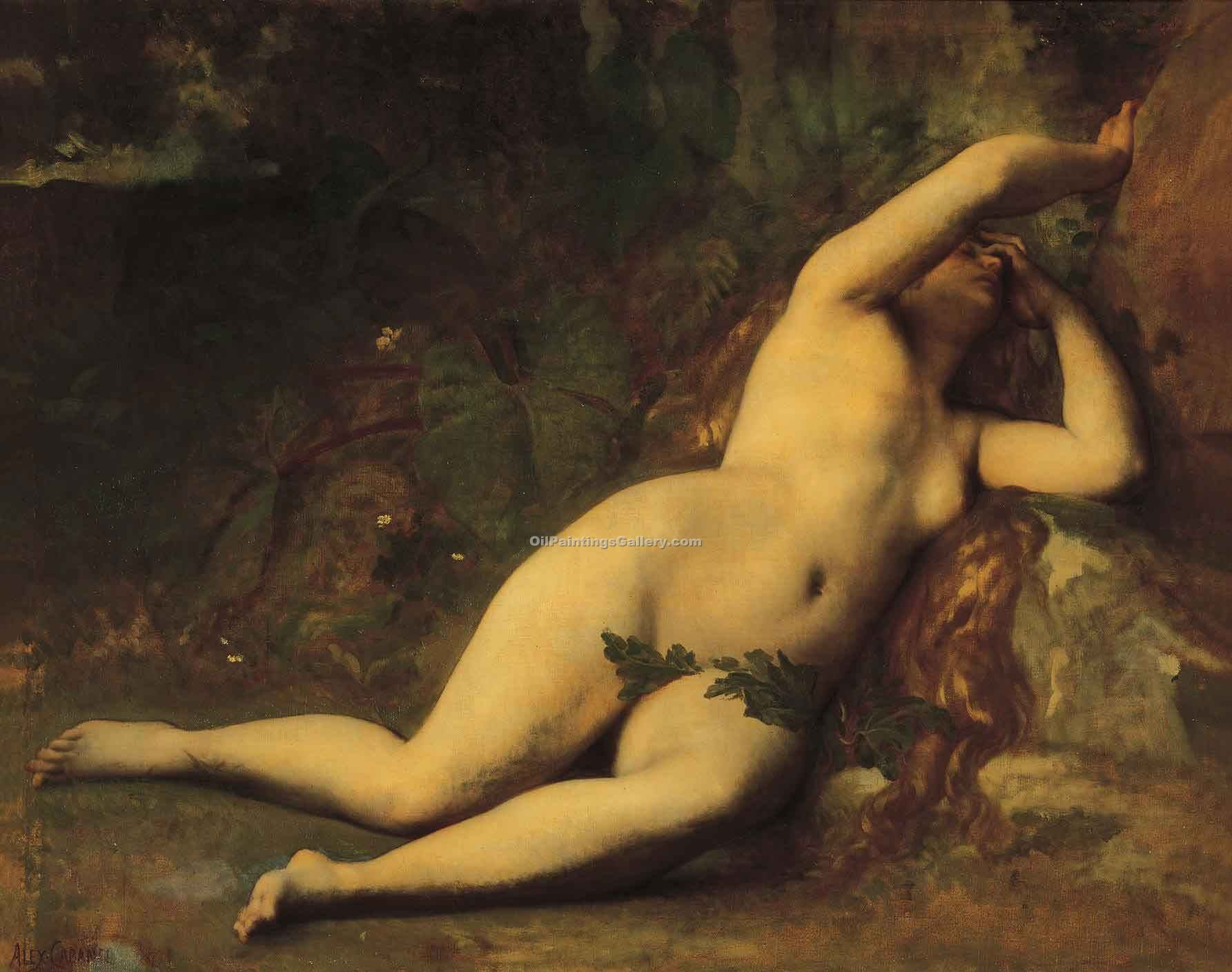 """Eve after the fall"" by  Alexandre Cabanel"