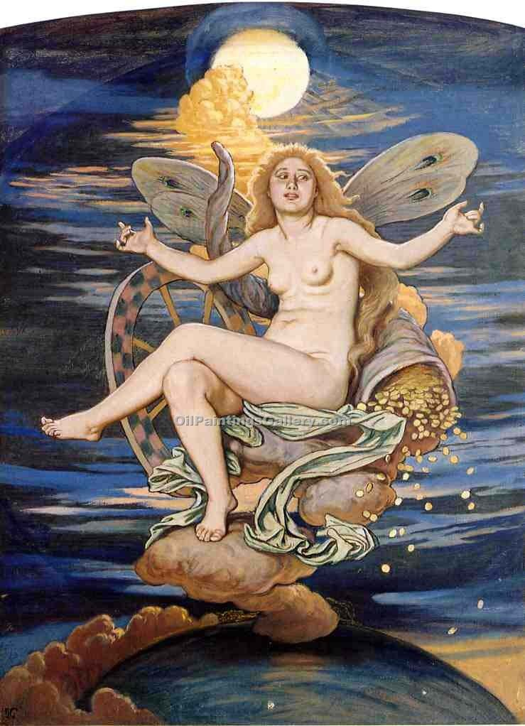 """Fortuna"" by  Elihu Vedder"
