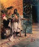 Harem Guard by  Rudolf Ernst (Painting ID: ER-0130-KA)