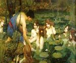 Hylas and the Nymphs by  John William Waterhouse (Painting ID: CL-4182-KA)