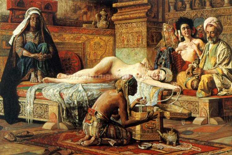 """In The Harem 84"" by  Gyula Tornai"