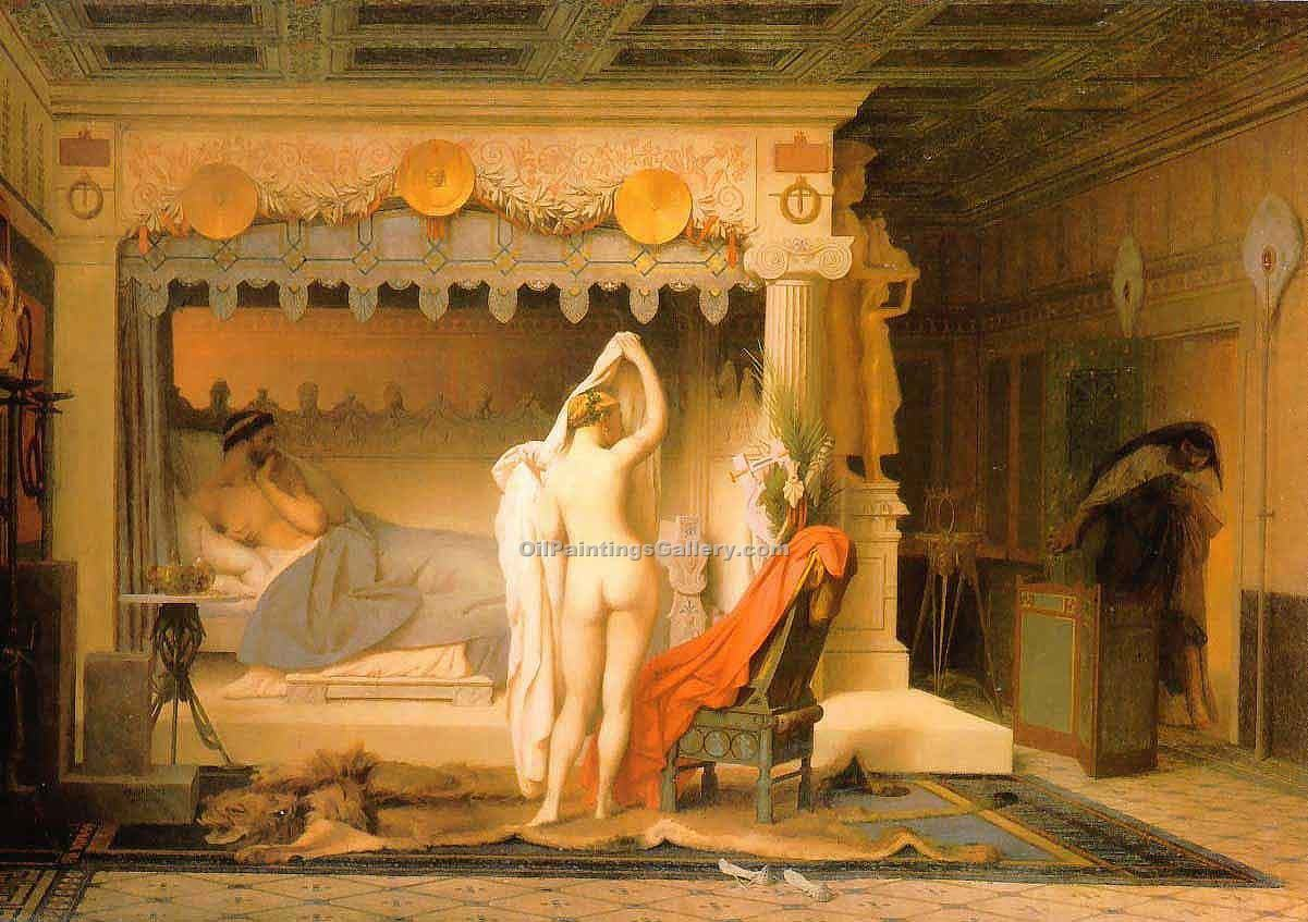 """King Candaules"" by  Jean Leon Gerome"