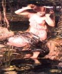 Lamia by  John William Waterhouse (Painting ID: CL-4183-KA)