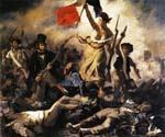 Liberty Leading the People by  Eugene Delacroix (Painting ID: CM-1582-KA)
