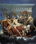 Mars Disarmed by Venus and the Three Graces by  Jacques Louis David (Painting ID: CL-4156-KA)