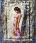 Nude 86 Oil Painting (ID: EI-1186-B)