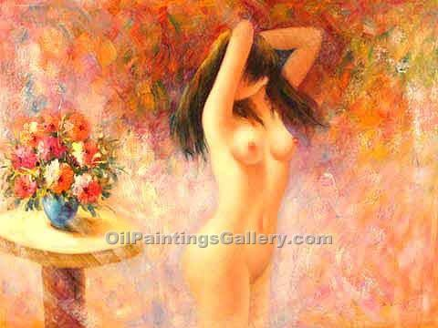 """Nude and Flowers 25"""