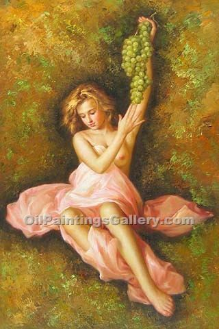 """Nude with Grapes"""