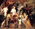 Peace and War by  Peter Paul Rubens (Painting ID: CM-1478-KA)