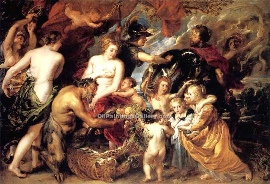 """Peace and War"" by  Peter Paul Rubens"