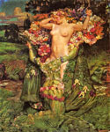 Rising Spring by  John Byam Liston Shaw (Painting ID: ED-0720-KA)