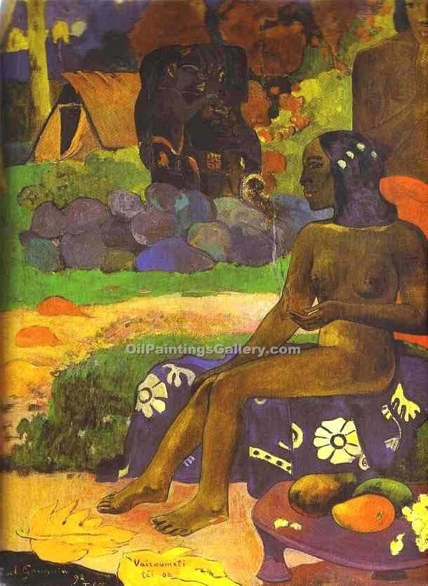 """Sacred Spring 90"" by  Paul Gauguin"