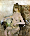 Seated Nude 67 by  Edouard Vuillard (Painting ID: ED-1267-KA)