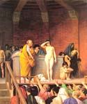 Slave Auction by  Jean Leon Gerome (Painting ID: EI-1176-KA)