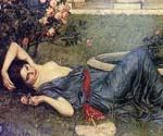Sweet Summer by  John William Waterhouse (Painting ID: CL-4191-KA)