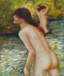 The Bathers 93 Oil Painting (ID: CL-4493-A)