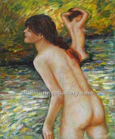 The Bathers 93 by Pierre Auguste Renoir | Oil Painting Gallery - Oil Paintings Gallery
