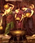 The Danaides by  John William Waterhouse (Painting ID: CL-4197-KA)