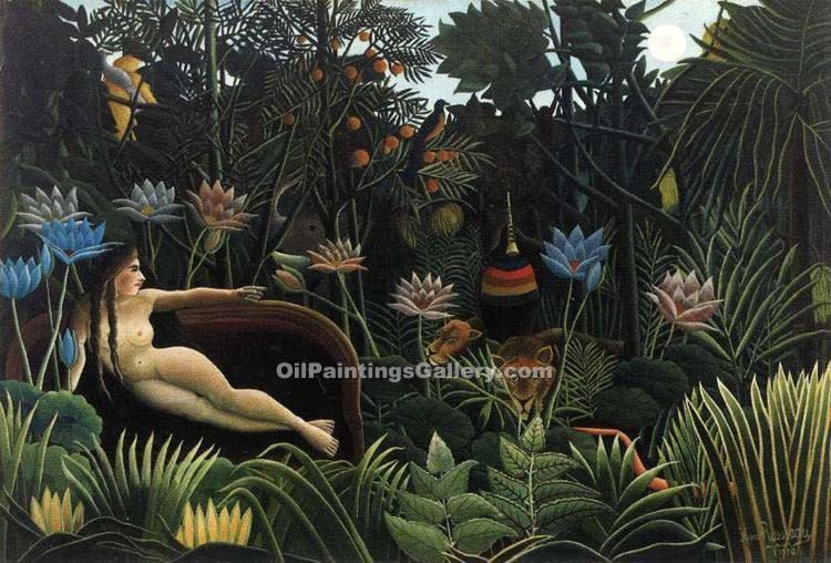 """The Dream 66"" by  Henri Rousseau"