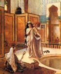 The Harem Bath 32 by  Rudolf Ernst (Painting ID: ER-0132-KA)