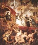 The Landing of Marie de Medici at Marseilles by  Peter Paul Rubens (Painting ID: CM-1486-KA)