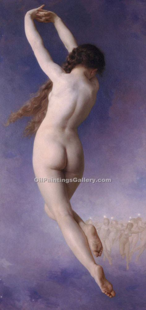 """The Lost Pleiad"" by  Adolphe Bouguereau"