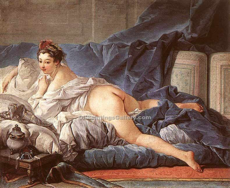 """The Odalisk"" by  Francois Boucher"