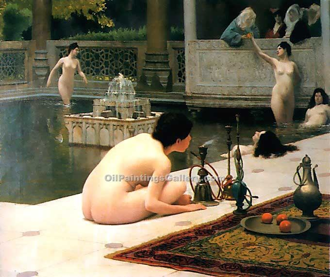 """The Pipelighte"" by  Jean Leon Gerome"