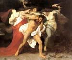 The Remorse of Orestes by  Adolphe Bouguereau (Painting ID: DA-7119-KA)