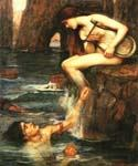 The Siren by  John William Waterhouse (Painting ID: CL-4184-KA)
