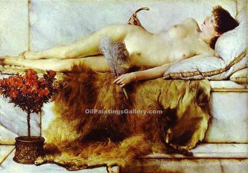 """The Tepidarium"" by  Sir Lawrence Alma Tadema"