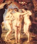 The Three Graces 74 by  Peter Paul Rubens (Painting ID: CM-1474-KA)