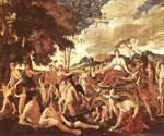 The Triumph of Flora by  Nicolas Poussin (Painting ID: CM-1440-KA)
