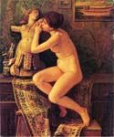 The Venetian Model by  Elihu Vedder (Painting ID: CL-0820-KA)