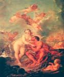 The Visit of Venus to Vulcan by  Francois Boucher (Painting ID: CM-0909-KA)