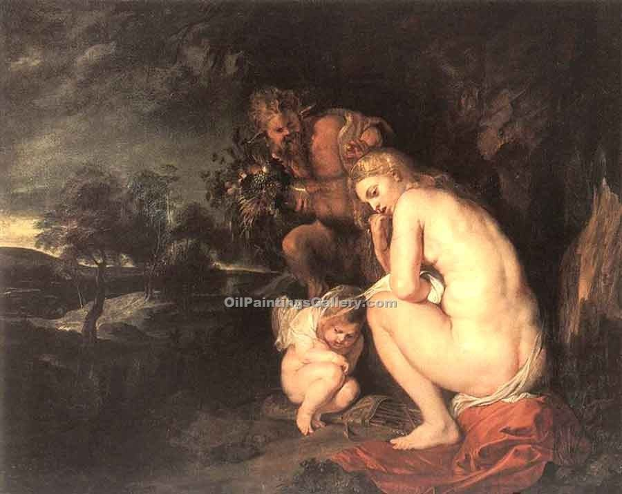 """Venus Frigida"" by  Peter Paul Rubens"