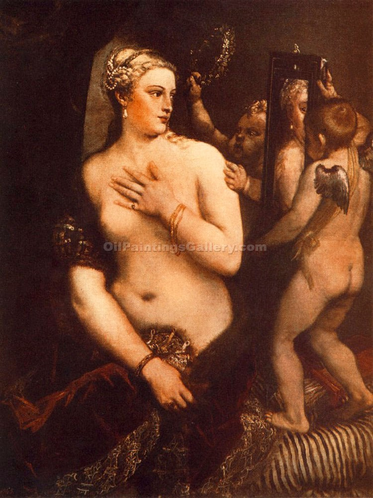 """Venus at her Toilet"" by   Titian"