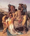 Zenobia Found by Shephereds by  Adolphe Bouguereau (Painting ID: DA-7120-KA)