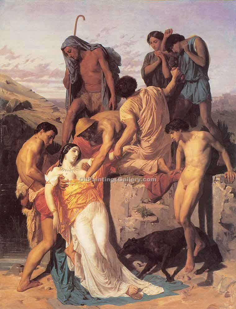 """Zenobia Found by Shephereds"" by  Adolphe Bouguereau"